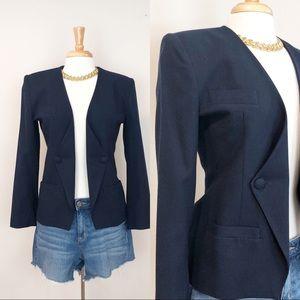 Vintage Wool Blazer • sz 2